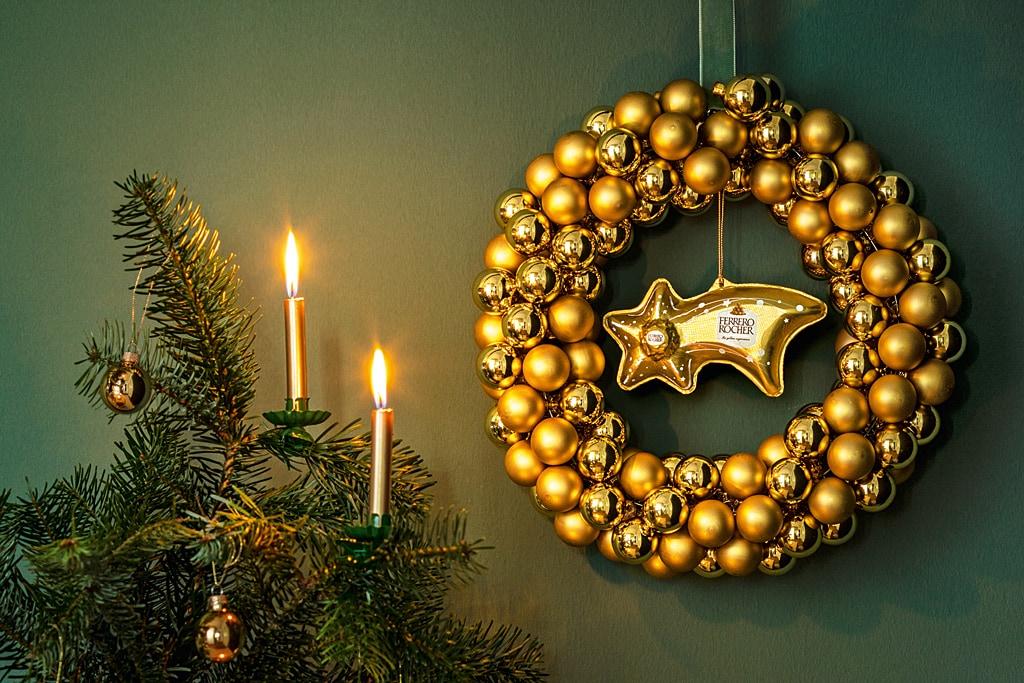 Weihnachtskomet von Ferrero Rocher