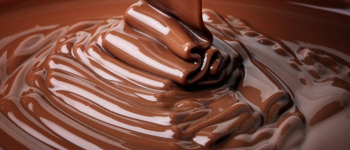 Fließende Schokolade