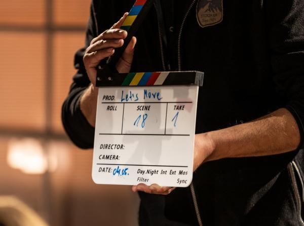 Filmklappe: Let's Move, Scene 18, Take 1